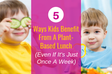 5 Ways Kids Benefit From A Plant-Based Lunch (Even If It's Just Once A Week)